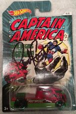 Randy Couture UFC MMA Signed Captain America Hot Wheels Car