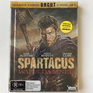 Spartacus - War Of The Damned - Complete Season 3 (DVD) Australia Region 4