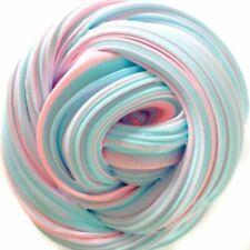 Rainbow Pink Blue Cloud Slime Fluffy Icecream Mud Stress Relief Kids DIY Toys
