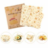 Bees Wrap Wachspapier 3er-Pack, Bienenwachstücher beewrap Wachspapier für