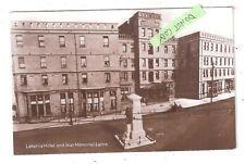 RP Larne Laharna Hotel & War Memorial County Antrim Northern Ireland signal ser