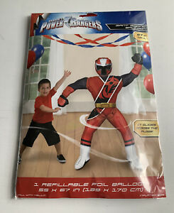 Power Rangers Ninja Steel Air-Walker Balloon ~ Boys Birthday Party Supplies 67""