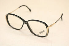 RODENSTOCK Johana VINTAGE Eyeglasses Black Gold Retro 70s MCM Old Unusual