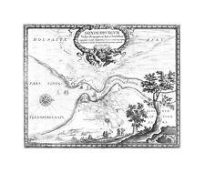 Antiguo Mapa, sonderburgum sedes principios cui Sueci Praesidium …