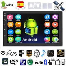 2 Din Android Pantalla Radio de coche Mirror Link GPS Navi Bluetooth MP5 Jugador