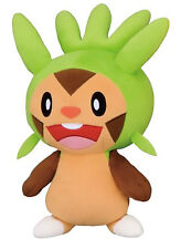 "Pokemon GO Collection CHESPIN 10"" DX Plush Doll Toy Plushie XY Banpresto UFO"
