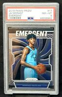 2019 Prizm Emergent Grizzlies RC Star JA MORANT Rookie Card PSA 8 Low Pop