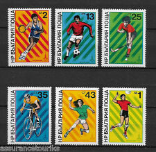 BULGARIE - 1980 YT 2536 à 2541 - TIMBRES NEUFS** MNH LUXE - JEUX OLYMPIQUES