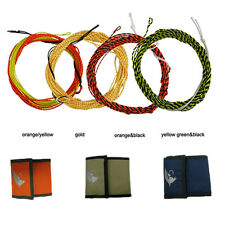 Aventik Fly Fishing Line 12FT Tapered Braided Tenkara With Fly Fishing wallet