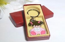24-Baby Shower Girl Party Favors Keychains Favor Pink Recuerdos De Nina Llaveros
