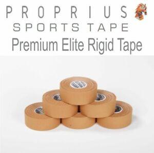 Rigid-Premium Elite Rigid Sports Strapping Tape 6x Rolls x 25mm x 13.7m
