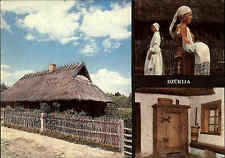 Litauen Postcard Postkarte Bildkarte 1987 Museum der Geschichte Litauens color