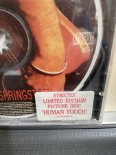 BRUCE SPRINGSTEEN - HUMAN TOUCH - STRICTLY LIMITED EDITION - PICTURE DISC N/M