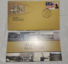 2013  50 years Malaysia Day Tunku Abdul Rahman Stamp FDC Kuala Lumpur Cachet