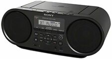New Sony ZS-RS60BT CD Boombox W/ Bluetooth NFC AM/FM USB Headphone/Line-in Jacks