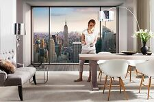GIGANTE Murale Parete Photo carta da parati PENTHOUSE NEW YORK CITY ARREDAMENTO ART 368x254