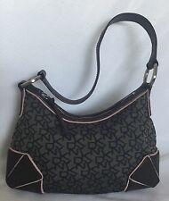 DKNY Leather/Fabric Shoulder Bag /Handbag