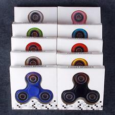 Lot 100X Hand Spinner Tri Fidget Steel Ball Desk Focus Toy EDC Stocking Stuffer