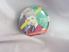 P3 Persona3 Megami Tensei Prize Pin Badge Akihiko Sanada