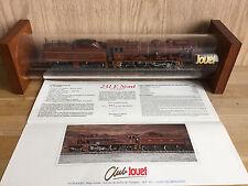 Locomotive HO CLUB JOUEF série limitée très bon état tube 231 E Nord