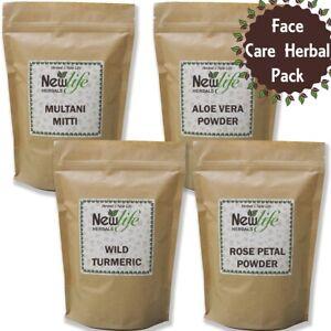 Aloe Vera Powder Multani Mitti Rose Petal Kasturi Manjal Wild Turmeric Powder