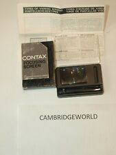 Contax RTS Focusing MATTE in original factory box NEW old stock