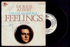"MORRIS ALBERT - Feelings (In Spanish) / Cristina - SPAIN SG 7"" Columbia 1975"