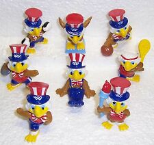 1984 LOS ANGELES SUMMER OLYMPICS MASCOT SAM SPORT SET