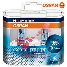 Osram 64193CBI-HCB H4 Cool Blue Intense 2er-Box Duo Box 4200K Nuevo y Emb. Orig.