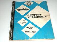 L'expert automobile n°13-Peugeot 404 L et U6
