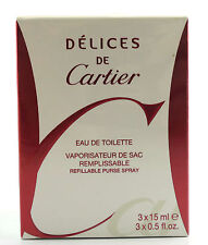 (prezzo base 244,22 €/100ml) Cartier Delices De Cartier 45ml Eau de Toilette Spray