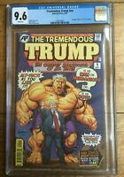 Tremendous Trump #NN Incredible Hulk #1 Homage Cover Swipe CGC 9.6 1260743007