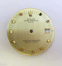 VINTAGE RARE ROLEX DATE SQUARE ICE CUBE BATONS DIAL REF.1500