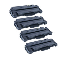 4 PK MLT-D105L Toner Cartridge for Samsung MLT-D105L/D105s ML-2545 laser printer