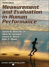 Measurement and Evaluation in Human Performance-4th Edition wWeb Study Guide