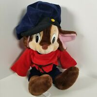 """Vintage 1986 Fievel Goes West An American Tail 22"""" Plush Mouse Doll Sears Fieval"""