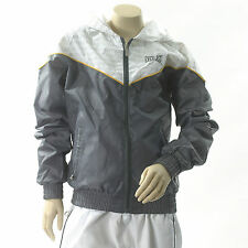 NEW Boys Age 9/10 EVERLAST Shiny Waterproof Lightweight Jacket Training Top Hood