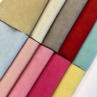 Premium Garment Grade Pig Suede Leather Hide 0.6-0.8 mm 7-9 sqft color #211-221