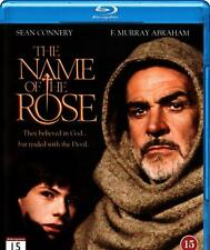 The Name of the Rose (1986) Sean Connery IMPORT Blu-Ray BRAND NEW Free Ship