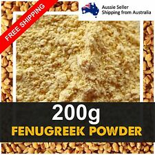 Fenugreek Seeds Ground Powder Herbs Herbal Tea Health Product 200g Free Shipping