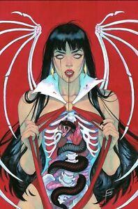 🚨😱 DIE!NAMITE #1 FRANY CVR A BONE Virgin Variant LTD 500 Vampirella Dienamite