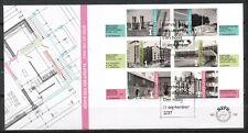 NEDERLAND ONBESCHREVEN FDC E-758 - ARCHITECTURE WEDEROPBOUW