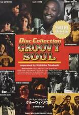 USED Groovy Soul Disc Collection Guide Book Japanese Jackson 5 Sam Cooke Michael