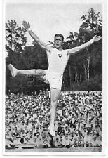 WWII GERMAN- Large 1936 OLYMPIC Photo Image- Sports- Swiss Gymnast- Mack