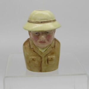 Winston Churchill Toby Jug Bairstow Pottery Birthday Christmas Gift Ideas