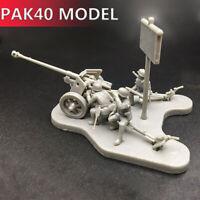 4D 1:72 Scenario PAK40 Assembly Model Cannon  Assemble Toys Puzzles Bricks Toy