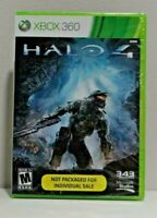 Halo 4 (Xbox 360, 2012) Pulled from system packages New !!
