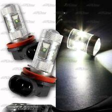 1x Pair Honda Ford GMC Dodge Fiat Lexus H11 30 Watt 6 LED White Projector Bulbs