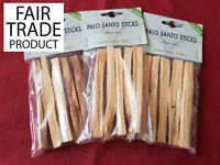 1 Fair Trade Palo Santo Stick Heiliges Holz Bursera Graveolens Palosanto Wood