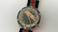 Vintage watch montre mens yema meangraf diver very rare cal. 140-1 Fe